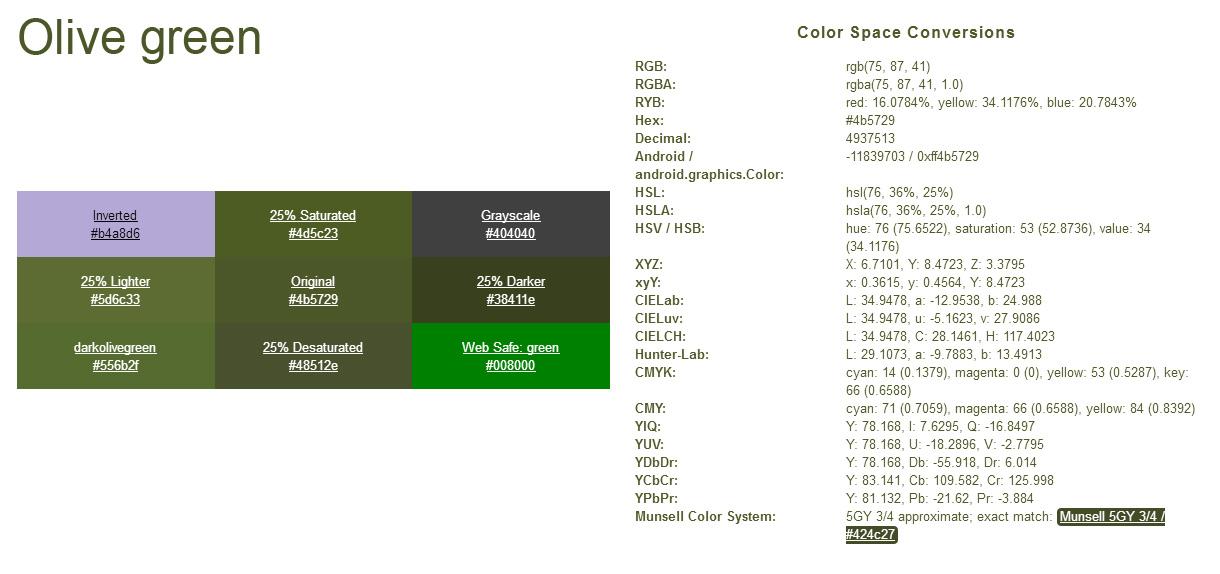 NATO paint colours
