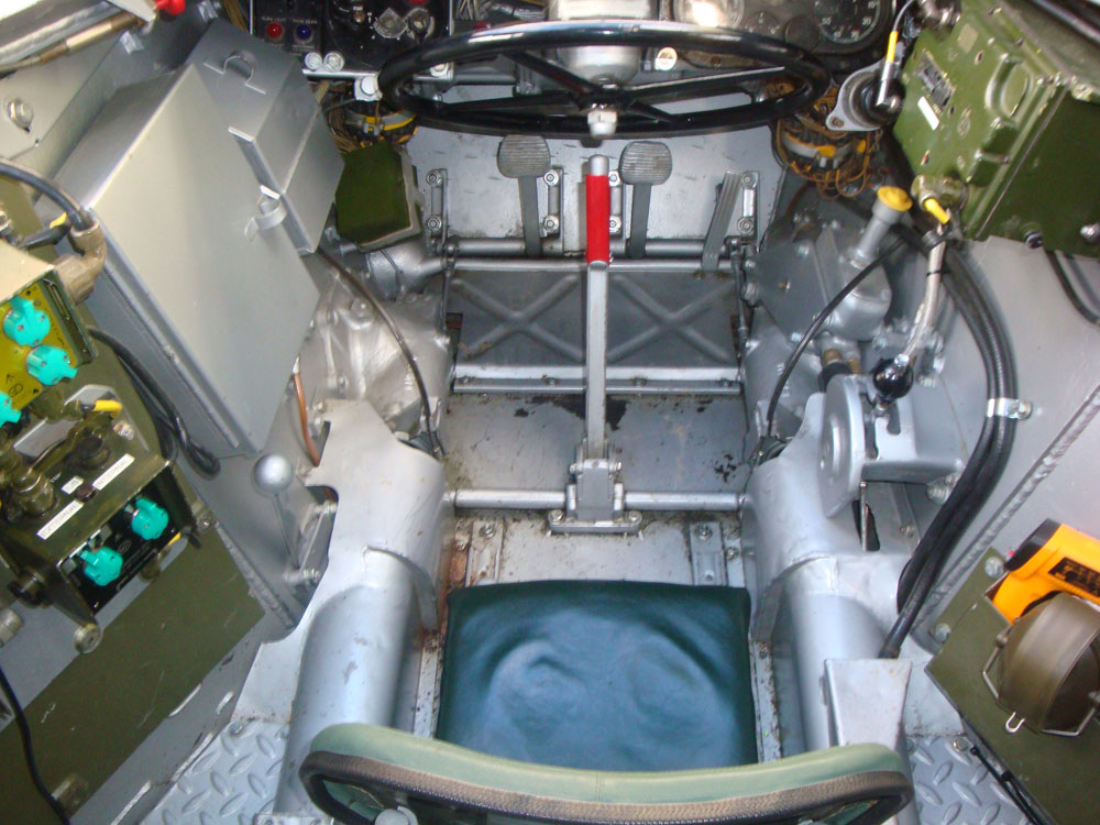 Driving compartment