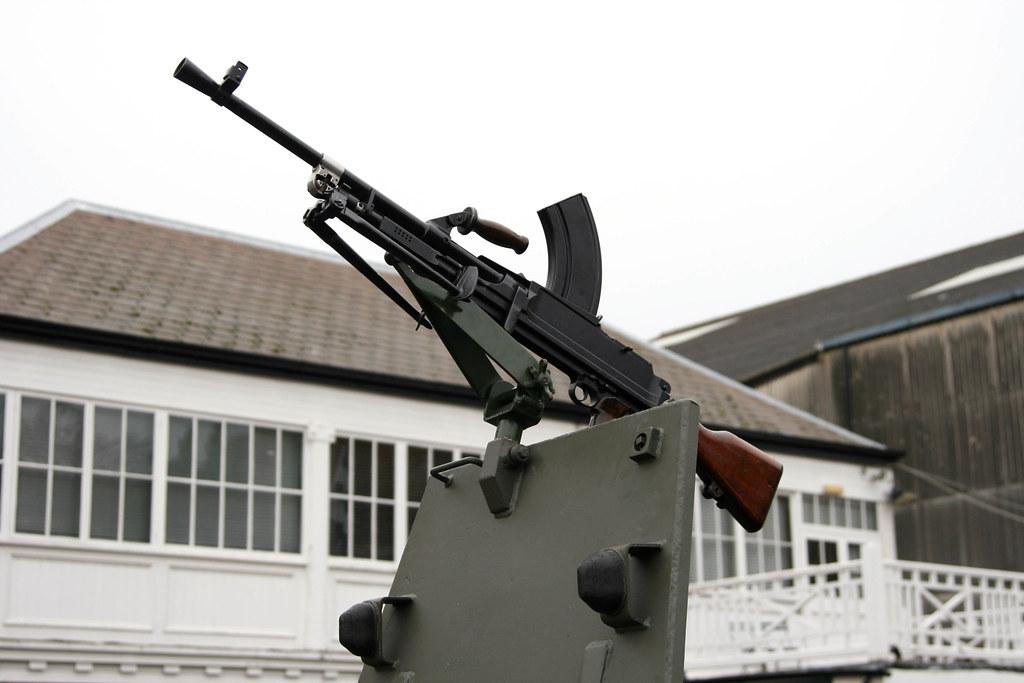 Bren Gun on Ferret hatch